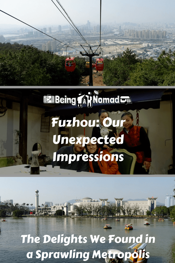 PInterest Cover Image for Fuzhou: Our Unexpected Impressions, The Delights We Found in a Sprawling Metropolis