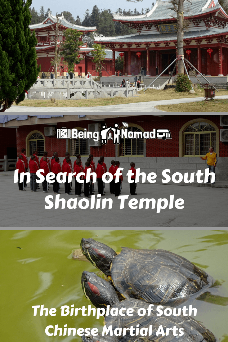 PInterest Cover Image for In Search Of The Chinese Temple: The Birthplace of South Chinese Martial Arts