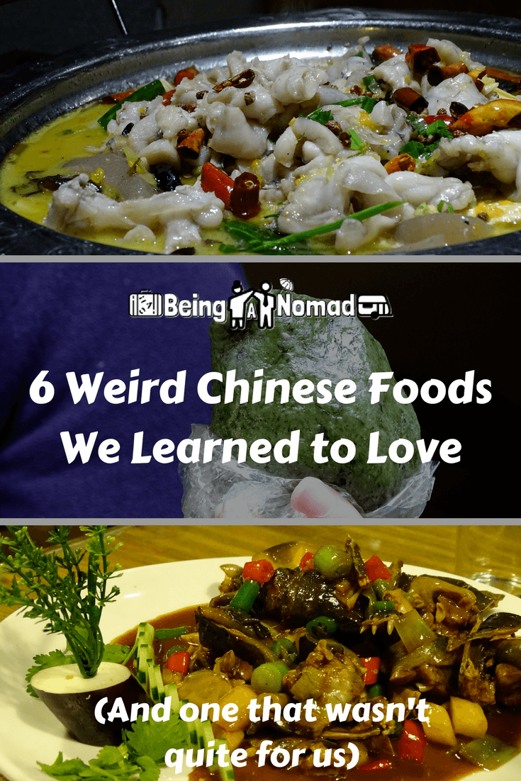 PInterest Cover Image for 6 Weird Chinese Foods We Learned to Love